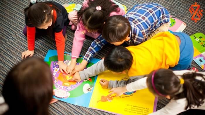 کلاس زبان کودکان در تهران