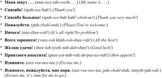 مکالمات روزمره روسی