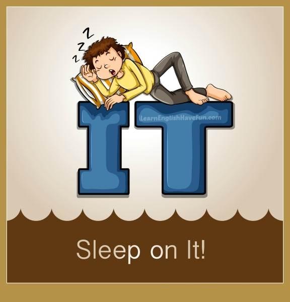 اصطلاحات انگلیسی با خواب