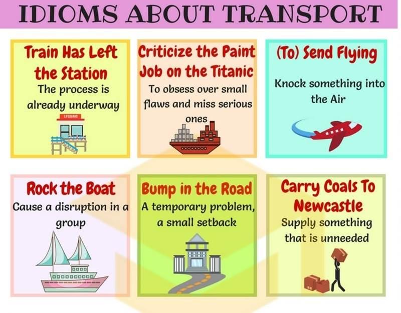 اصطلاحات حمل و نقل