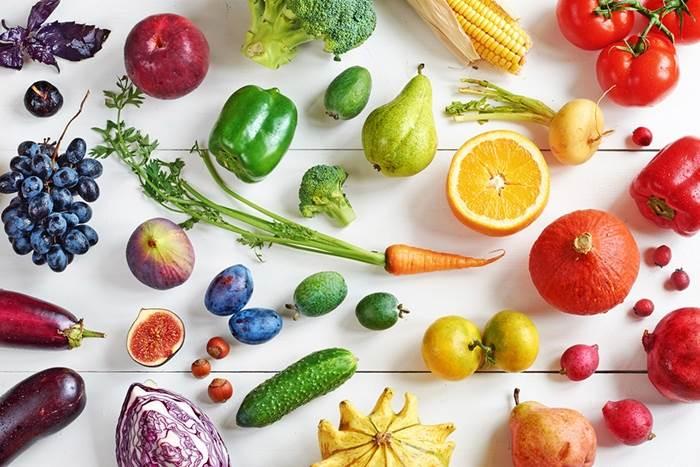 میوه ها و سبزیجات به اسپانیایی