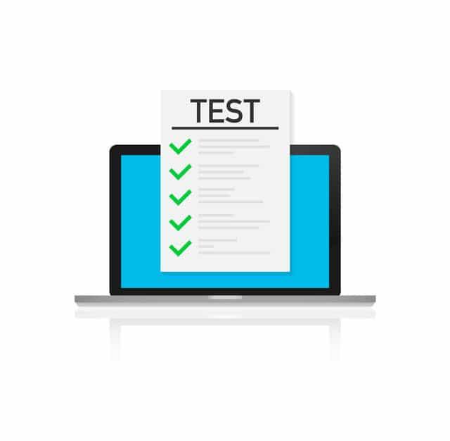 آزمون های آنلاین زبان انگلیسی