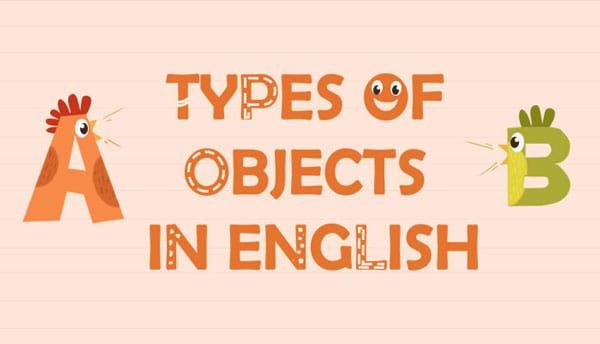 کاربرد مفعول در زبان انگلیسی