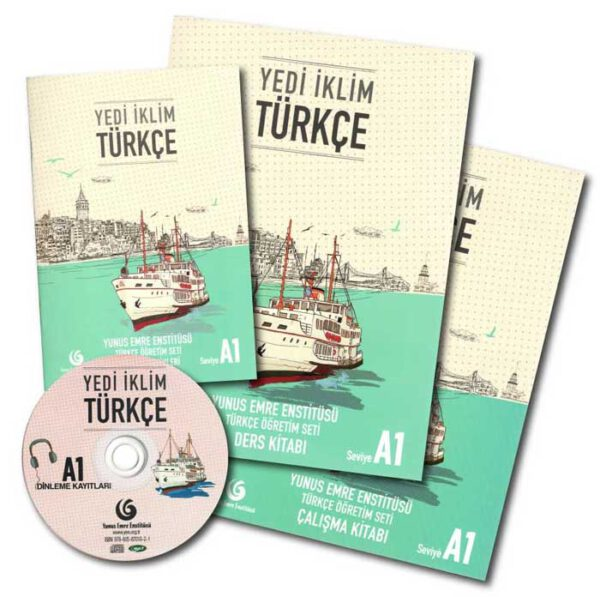 کتاب ترکی استانبولی یدی ایکلیم 1 Yedi Iklim