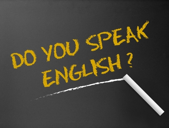 زبان برای مکالمه روزمره