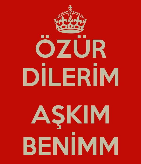 عذرخواهی به ترکی استانبولی