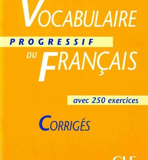 کتاب زبان فرانسه vocabulaire du francais 1