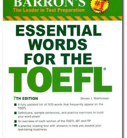 کتاب زبان Essential Words for TOEFL 7th Edition