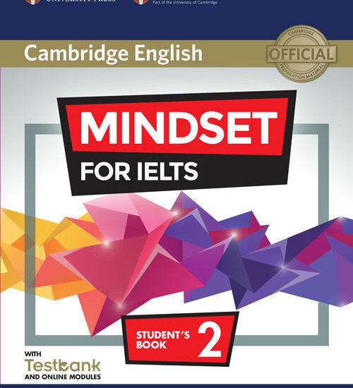 کتاب زبان Cambridge English Mindset For IELTS 2