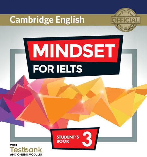 کتاب زبان Cambridge English Mindset For IELTS 3