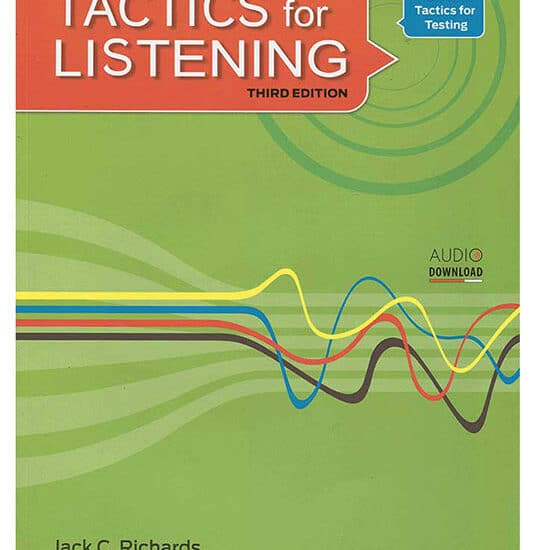 کتاب زبان Tactics for Listening Basic