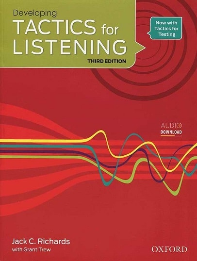 کتاب زبان Tactics for Listening Developing