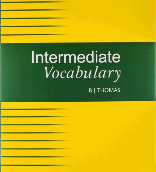 کتاب زبان انگلیسیIntermediate vocabulary اینترمدیت