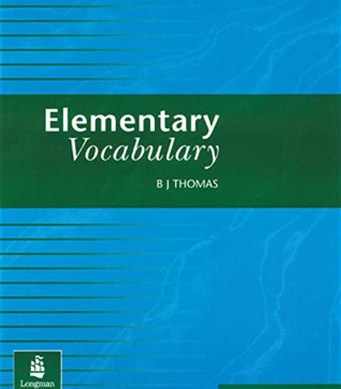 کتاب زبان انگلیسی Elementary vocabulary المنتری