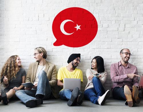 کاربرد زبان ترکی