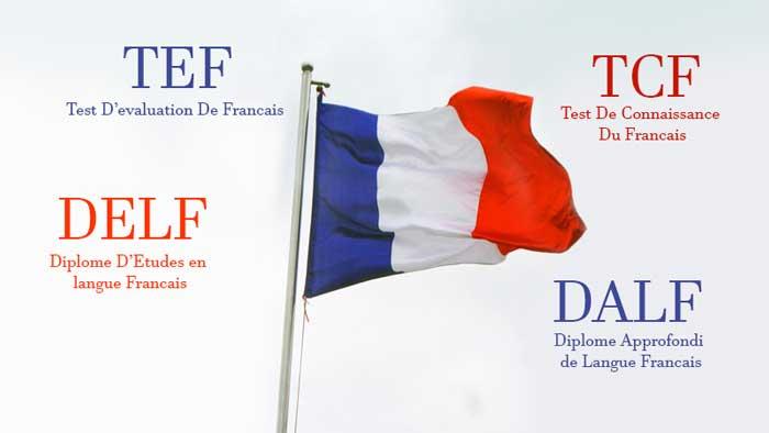 زبان برای مهاجرت به فرانسه