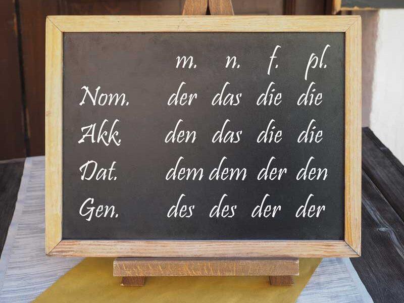 شروع یادگیری زبان آلمانی