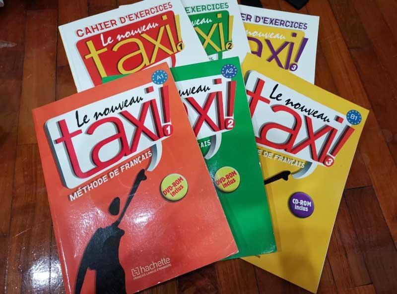 کتاب آموزشی برای کلاس فرانسه آنلاین